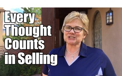 Every Thought Counts in Selling