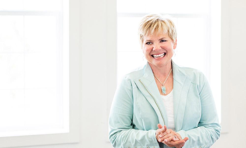 Deb Erickson White background, ICAN Coach