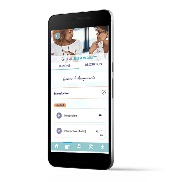 ICAN Sell & Recruit - ICAN Neuro System app